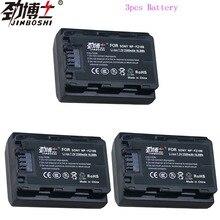 3pcs NP-FZ100 NPFZ100 NP FZ100 battery for sony  A7R III A7 III BC-QZ1 A9/A9R Alpha9 Alpha9R Alpha 9S A7RM3 FZ100 Battery