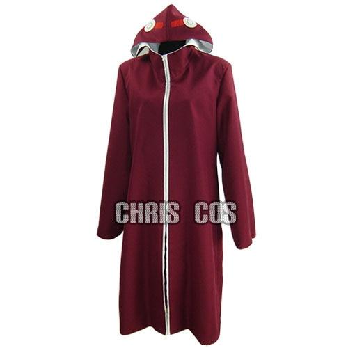 Anime Naruto Kabuto Yakushi uniforme sólo un abrigo Cosplay disfraz cualquier tamaño nuevo