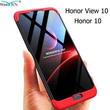 Coque plastique rigide 360 3-en-1 pour Huawei Honor View 10/Honor 10 Lite 20 housse Anti-choc coque intégrale Honor View 10