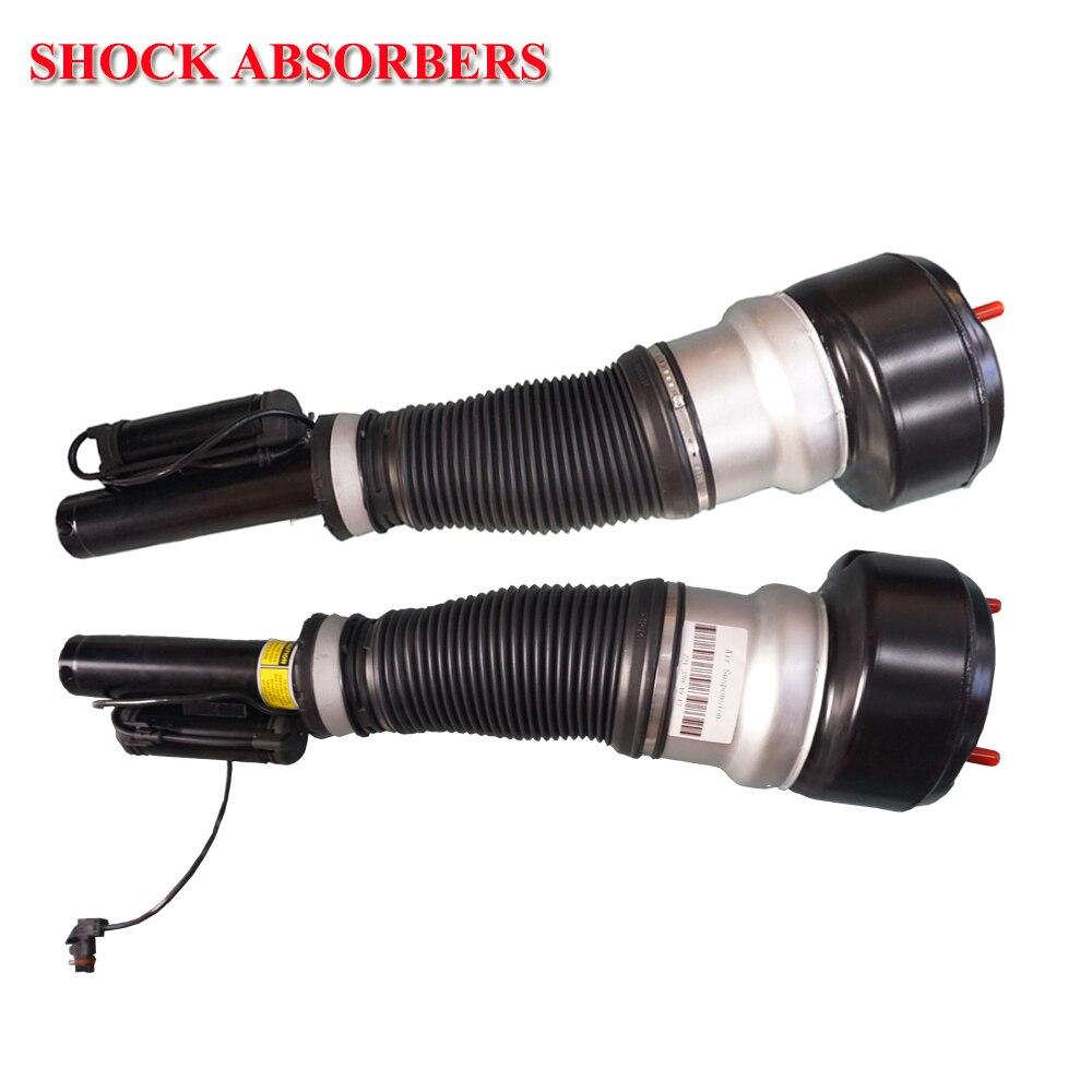 Par frente airmatic suspensão a ar choques strut para mercedes w221 S-CLASS a 221 320 49 13/2213204913 a2213209313/2213209313