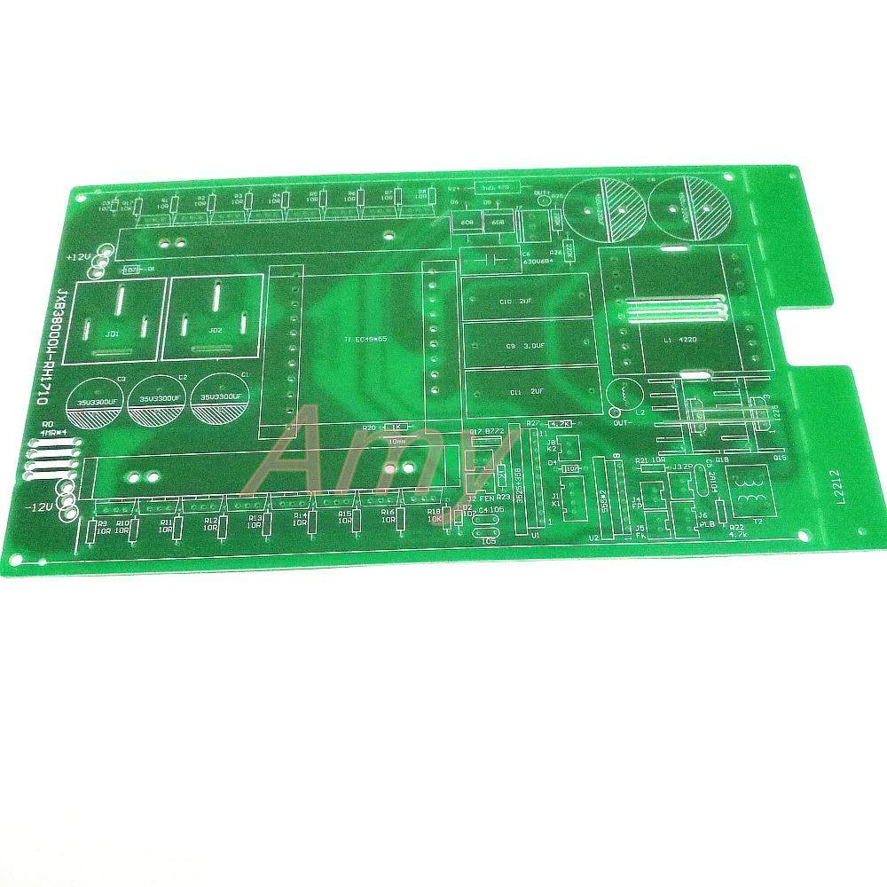Inverter circuit board, circuit board, PCB empty board, DIY16 small field tube, gold snow leopard, 38000W model