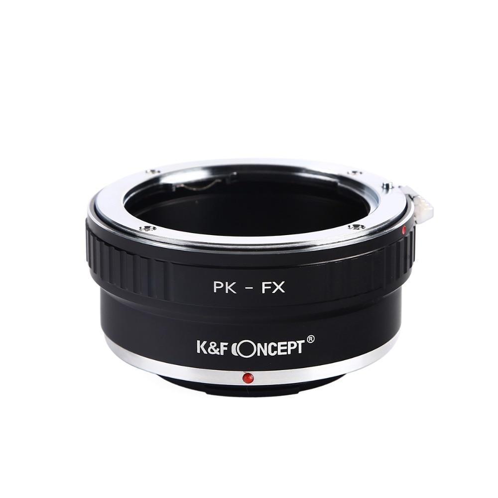 PK-FX Digital Lens Adapter Ring for Pentax PK K Mount Lens to Fujifilm Fuji FX X-Pro1 X-E1 X-M1 Camera Photography Accessories lr fx leica r lens to fujifilm x pro1 mount adapter black