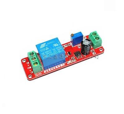 DC 5V relé de retardo escudo NE555 temporizador interruptor ajustable módulo 0 ~ 10S