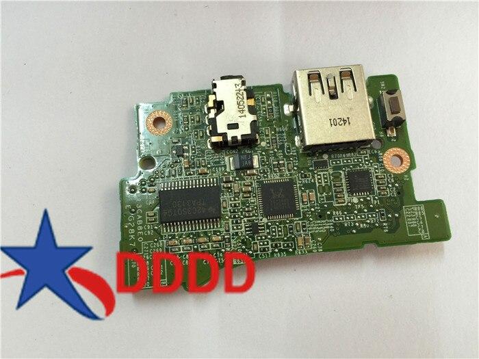 Original 0cr1t8 para Dell para XPS 13 9333 de Audio USB Power Button Board CR1T8 CN-0CR1T8 totalmente