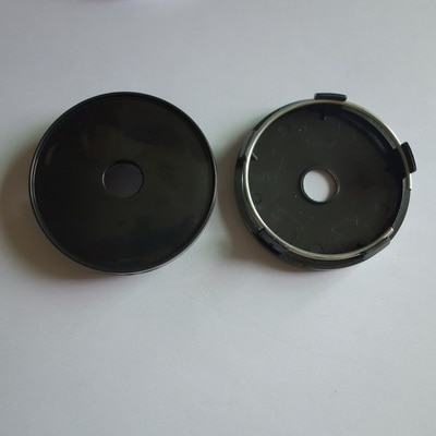 20pcs 60mm No Logo Badge Emblem Blank Empty Car Wheel Center Hub Rim Caps Cover Styling