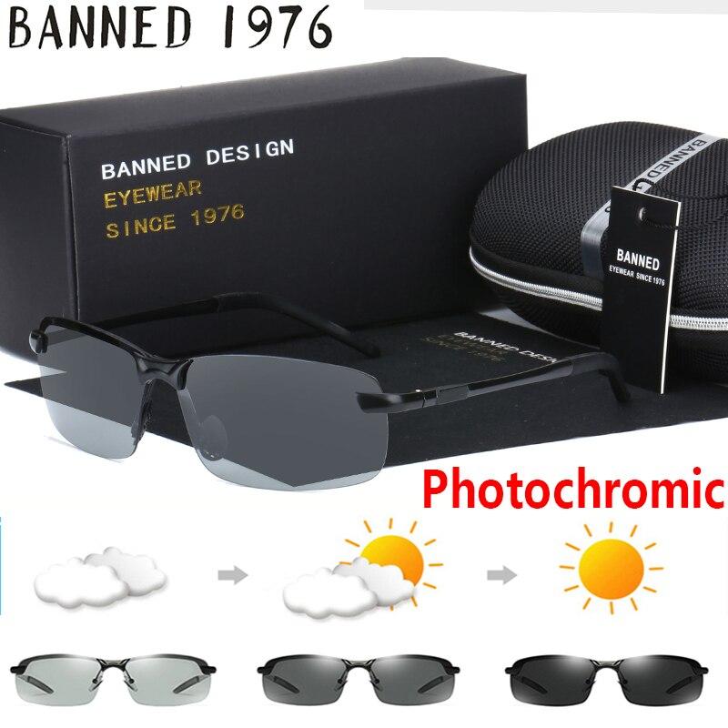 2019 fotocromáticos gafas de sol camaleón polarizadas HD hombres mujeres Glasse todo el día cambiar de color para la Nieve Luz de calidad superior tonos