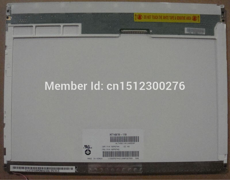 HT14X19-110 صالح LTN141XB-L02 LTN141XB-L04 B141XG08 B141XG05 B141XG09 N141XB-L01 LP141X14 N141XC-L02 30pin lcd screen