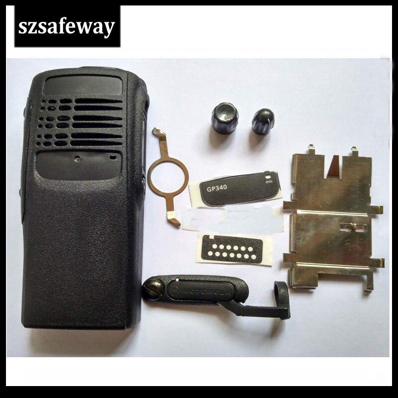 Carcasa de funda de radio de dos vías para Motorola GP340 accesorios de radio de dos vías envío gratis