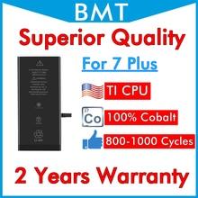 BMT 10pcs di Qualità Superiore Della Batteria per il iPhone 7 + 7 Plus 7 P 7 Plus sostituzione iOS 13 100% cobalto Cellulare + ILC Tecnologia 2019