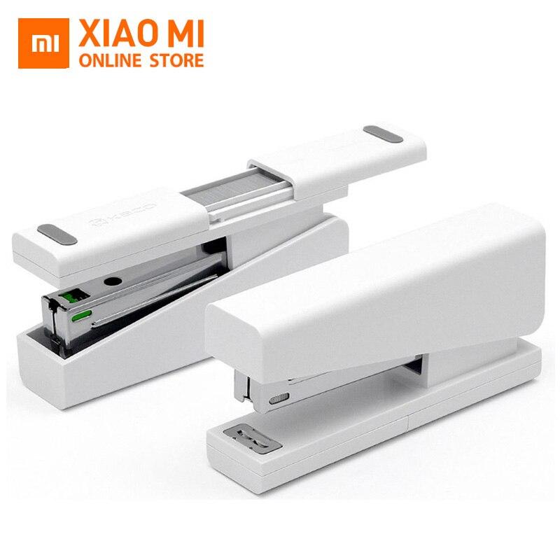 100% Оригинальный степлер Xiaomi Mijia Kaco LEMO 24/6 26/6 с 100 шт. скобы для бумажной офисной школы для xiaomi Умный домашний комплект