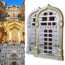 2019 Newest Islamic Mosque Azan Mosque Prayer Clock Iqamah Muslim Prayer Clock Alharameen Clock Islamic