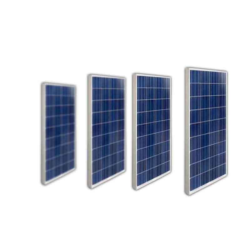 Panneau Solaire 100 w 12v 4 PCs Zonnepaneel 48v 400w Chargeur Solaire Outdoor Lighting Solar Energy Boats Yachts Caravan Car
