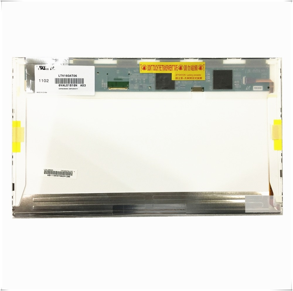 16 дюймов led для ASUS N61 N61vg N61JV HP DV6 CQ61 K61IC ноутбук ЖК светодиодный экран матрица HSD160PHW1 HSD160PHW1-B00 LTN160AT06