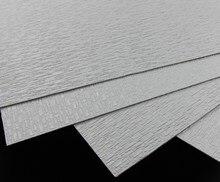 ABS53 2pcs ABS Styrene Plasticard Wall Floor Brick Sheet 275mm x 275mm White Architectual