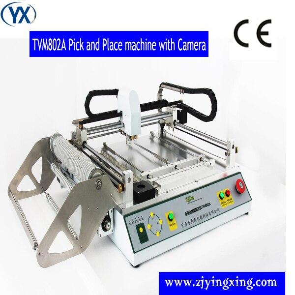 A Montagem Do Sistema Solar Com Sistema de Visão/Impressora de Estêncil/Forno de Refusão (TVM802A + YX3040 + T960)