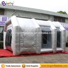 19.7ft x 16.4ft x 11.5ft надувная будочка для загара, надувная Автомобильная будочка для распыления воздуха, будочка для распыления Аэрограф, игрушеч...