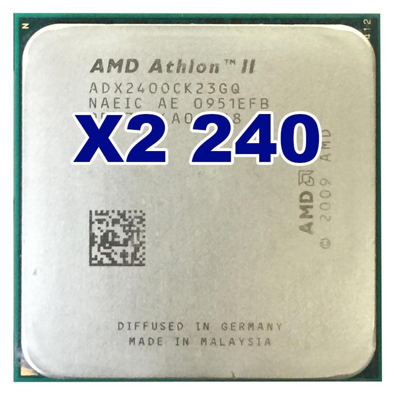 Original CPU AMD Athlon II X2 240 CPU 2,8 GHz Socket AM3...