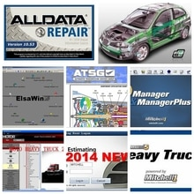 Alldata V10.53 1 to haute qualité HDD 2020 logiciel mit//chell OD5 schéma de câblage de voiture vive 26 en 1 outil de Diagnostic de réparation automatique