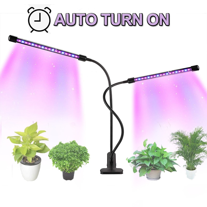 Led Grow Light 9W 18W 27W Timer Phyto Lamp For Plants Full Spectrum Grow Box Light USB 5 Dimmable For Indoor Plant Seedlings led greenhouse led grow light e27 15w 21w 27w 36w 45w 54w led grow lamp for plants flower plant orchids seedlings hydroponics system