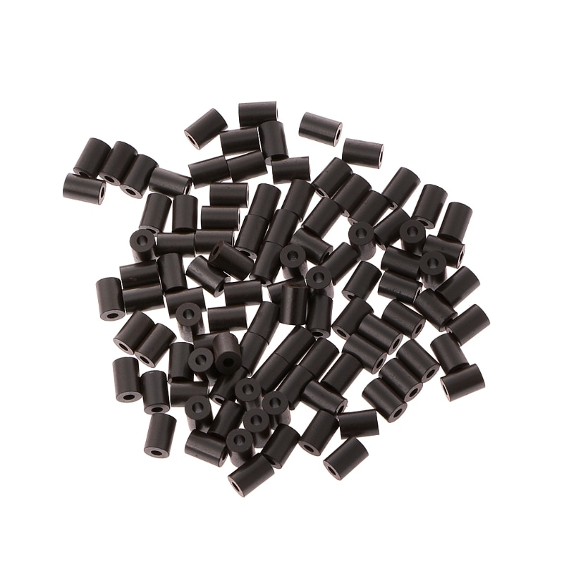 100x Ferrite Sleeve Core EMI 3.5x5x1.5mm Cores Ring Filter Toroidal Ferrite Bead