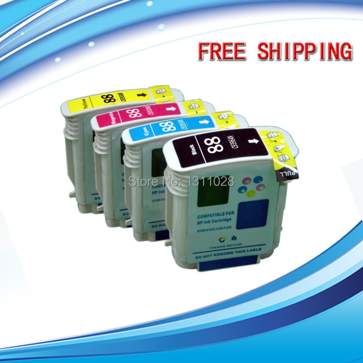 WAY 4 Pacote de TINTA Conjunto De Tinta usar para HP18 C4936A C4937A C4938A C4939A para HP Officejet Pro K5300 K5400dtn K5400dn L7380 5400dn L7580