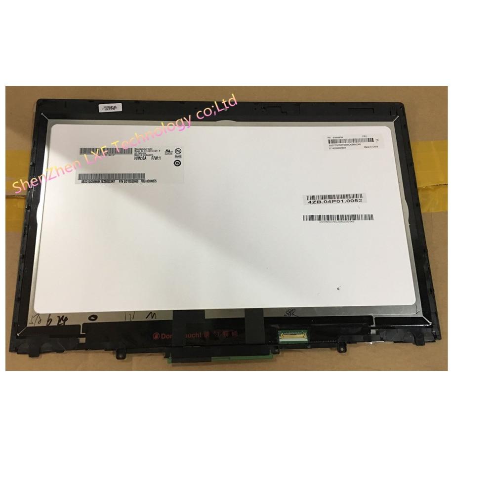 شاشة لمس لجهاز Lenovo ThinkPad X1 ، حامل رقمي ، إطار ، B140HAN01.8 ، FRU:00HN875 لجهاز Lenovo X1 Yoga ، الجيل الأول