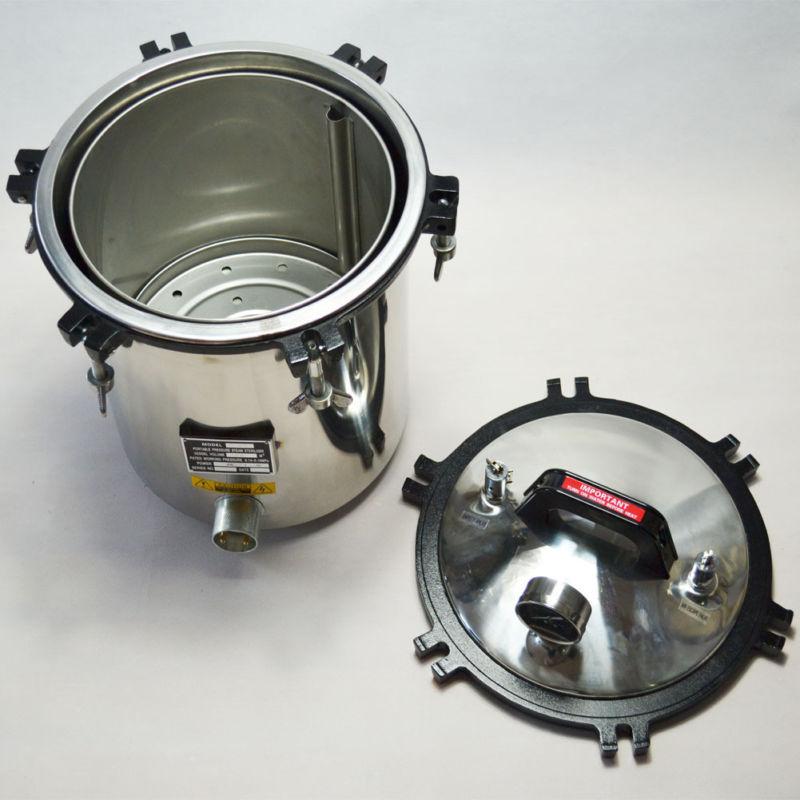 معقم بالبخار اوتوكلاف 110 فولت/220 فولت ، 18 لتر ، معدات علمية للوشم/طب الأسنان/المختبر