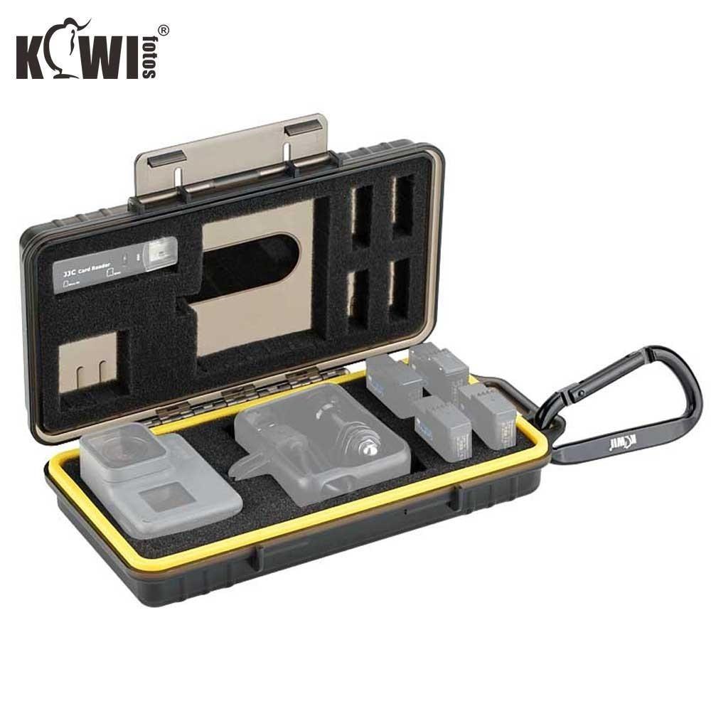KCB-UN1 KIWIFOTOS Estuche de transporte, puede guardar teléfonos, reproductores de música, auriculares, baterías, cargadores u otros productos electrónicos pequeños