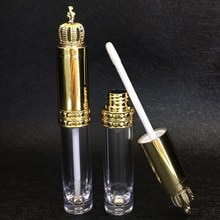 새로운 크라운 빈 립글로스 튜브 리필 diy 투명 병 립 밤 액체 batom 컨테이너 속눈썹 성장 화장품 도구