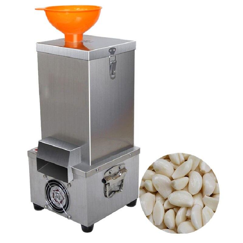 Коммерческая машина для очистки чеснока электрическая из нержавеющей стали