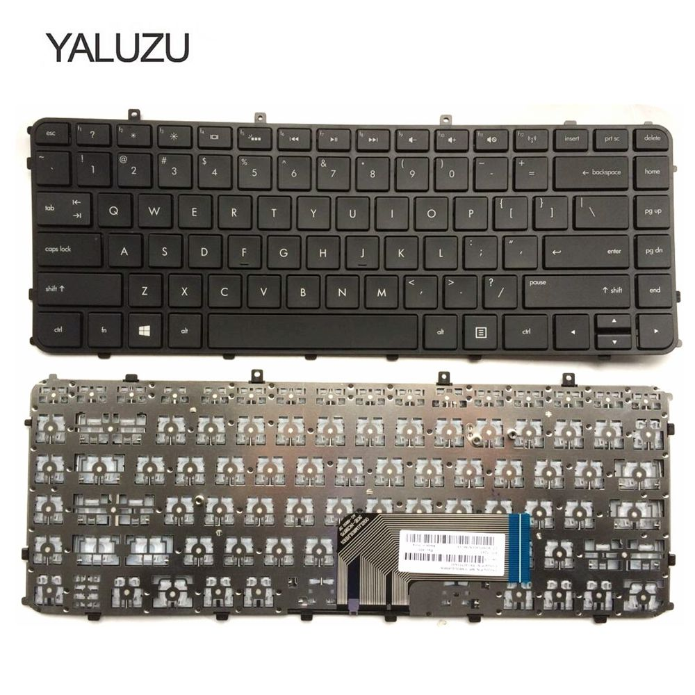 new for HP US English Black Frame Keyboard for ENVY Sleekbook 4-1090se 6-1110sw 6-1270sf 6t-1200 6-1002sy  6-1030sq 4-1208tu