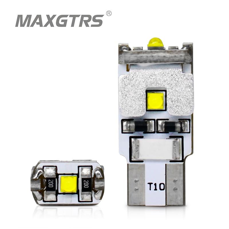 2x t10 w5w 168 194 canbus nenhum erro cree chip led carro auto drl substituição luz de afastamento lâmpadas de estacionamento fonte de luz do carro