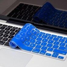 "Engels Vs Layout Siliconen Toetsenbord Cover Voor Macbook Pro 13 ""15"" 17 ""Imac Toetsenbord Beschermende Film Voor oude Macbook Air 13"