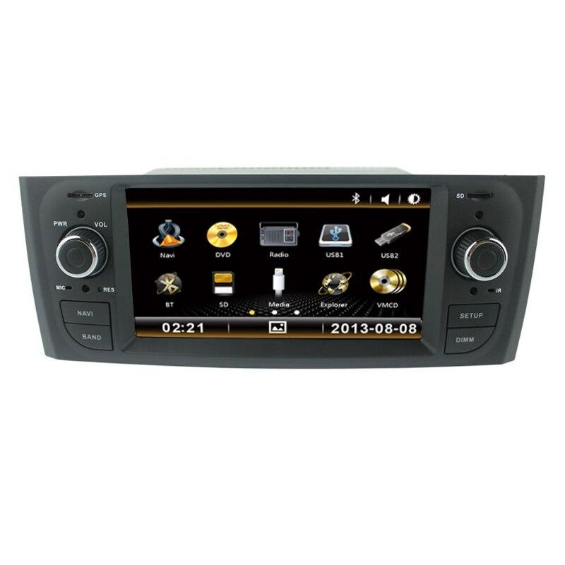 GPS DVD de coche para Fiat Grande Punto Linea viejo Central Multimedia con Bluetooth RDS iPod función 3G Puerto USB CANBUS audio mic