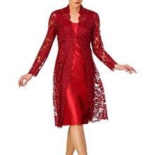 Vestidos Elegantes para mujer, Vestidos de dos piezas, Vestidos de encaje de novia, Vestidos elegantes y nobles para mujer D717
