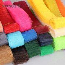 36 colors 2.0 /5 cm crinoline horsehair braids 헤어 액세서리 fascinators craft 여성용 장식용 머리 장식 제작 100 yards/lot