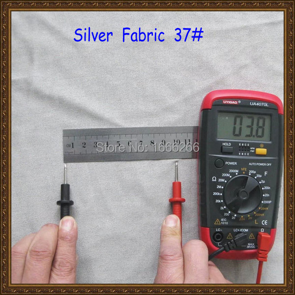 Proveedor de China de fibra de plata anti-radiación de tejido de punto