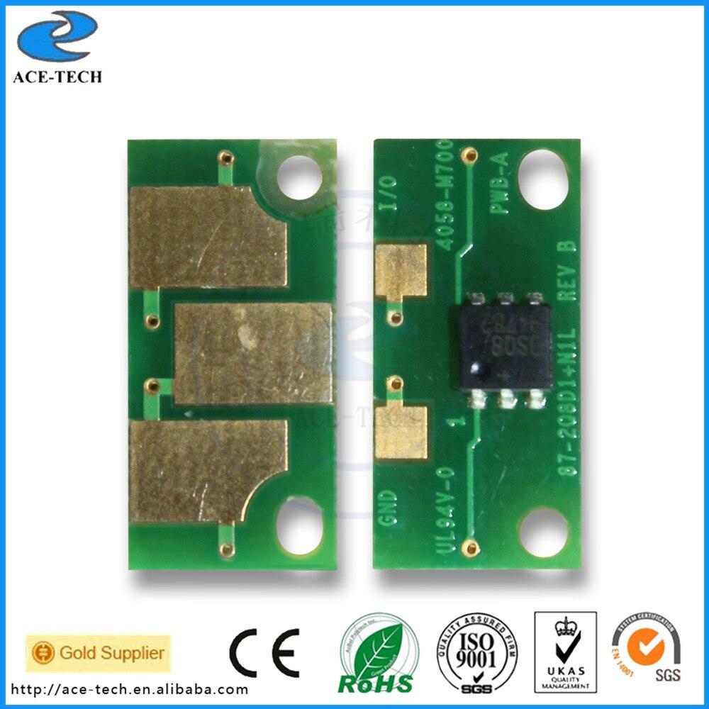 Tarjeta inteligente chip reajuste para konica minolta 2400 W/2500 W/2430 W/2430DL/2450MFP/2480MFP /cartucho de impresora láser 2490MFP/2530DL/2550
