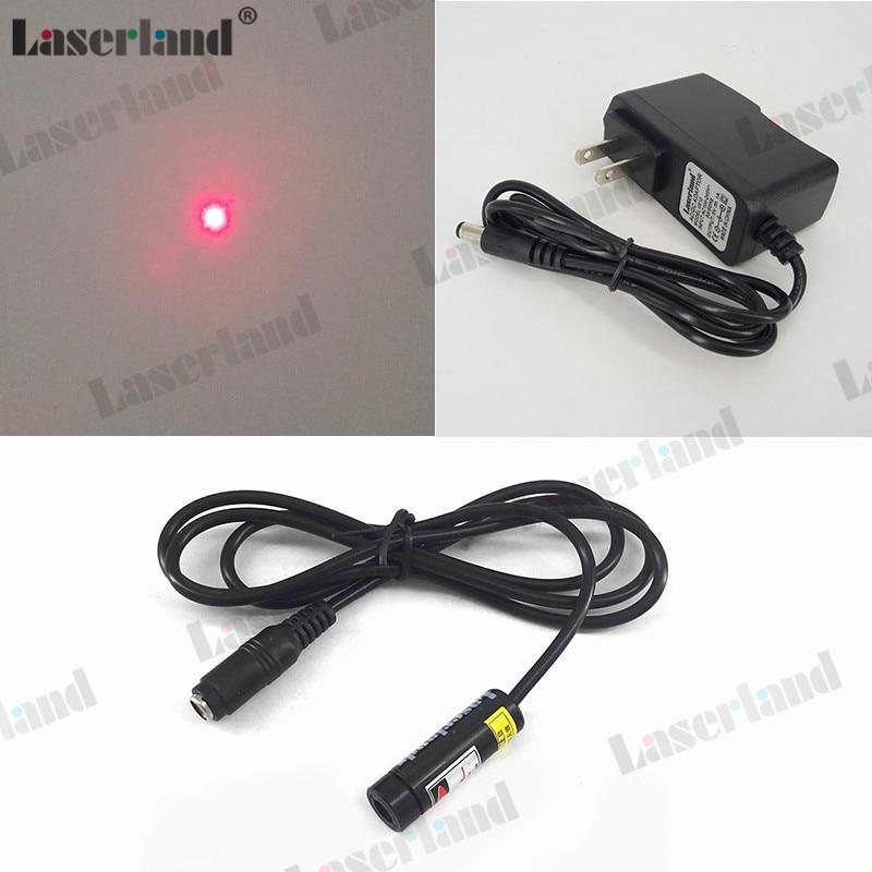 1240 Focusable 650nm 5mW 50mW módulo láser de punto rojo para 1064nm YAG marcado soldadura bordado