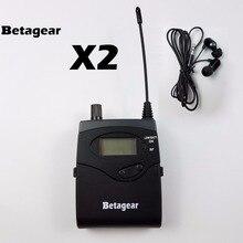 Récepteurs 2 pièces Betagear avec écouteurs pour 300 IEM G3, SR 300 IEM G3 SR2050 moniteur intra-auriculaire stade du système de surveillance sans fil