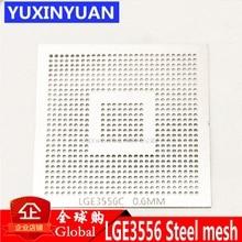 LGE3556C LGE3556 LGE3556CP  LCD BGA 0.6MM solder ball chip size steel mesh steel mesh Template Stencil