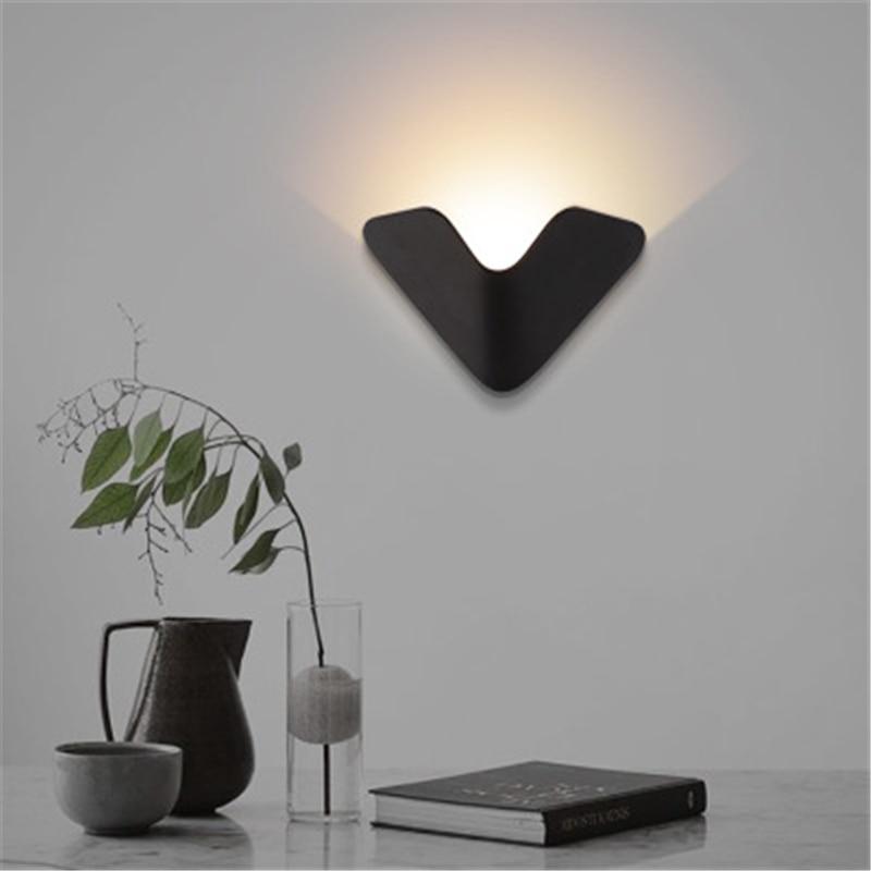 Creative Fashion LED Wall Light Bedroom Bedside Lamp Aisle Living Room Background Lamp Hotel Hotel Lobby Decoration Light