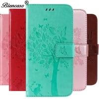 3d tree leather case for xiaomi mi 8 cover for redmi 7 coque for redmi note 5 stand fundas note 4 4x mi a2 lite mi 9 2019 se