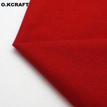50x150 Fresh RED Fleece Fabric Plush Loop Cloth for Doll Pillow Sew Kids Toys Plain Dyed Knitted Velvet Fleece Tissue Q0101