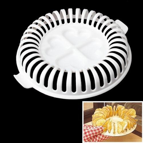 PHFU Vktech DIY aceite libre saludable microondas horno patatas fritas sin grasa fabricante hogar
