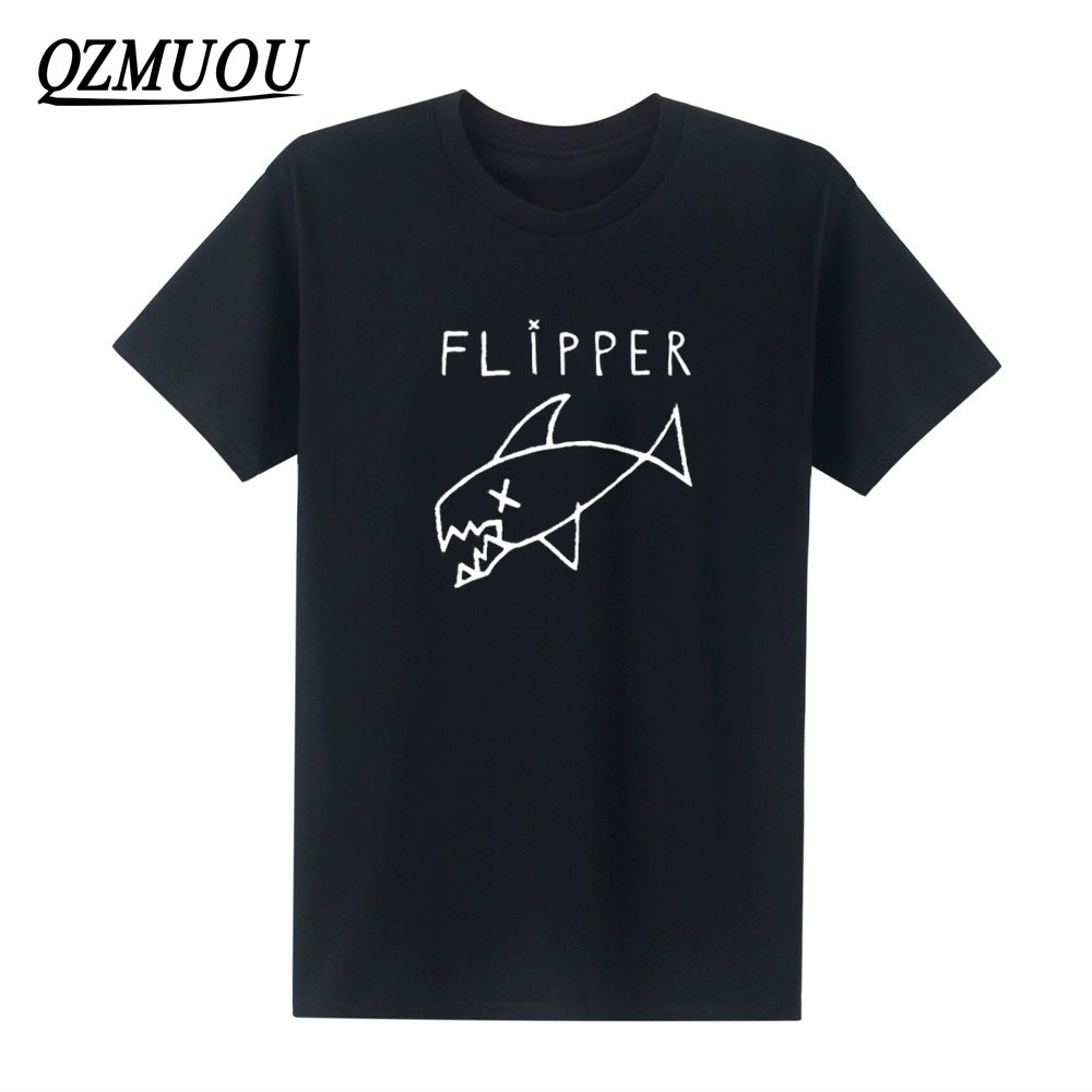 Nuevo Flipper Nirvana Kurt Cobain Rock banda de música camiseta Unisex de algodón cuello redondo Camiseta de Hip-Hop con mangas cortas tamaño XS-XXL