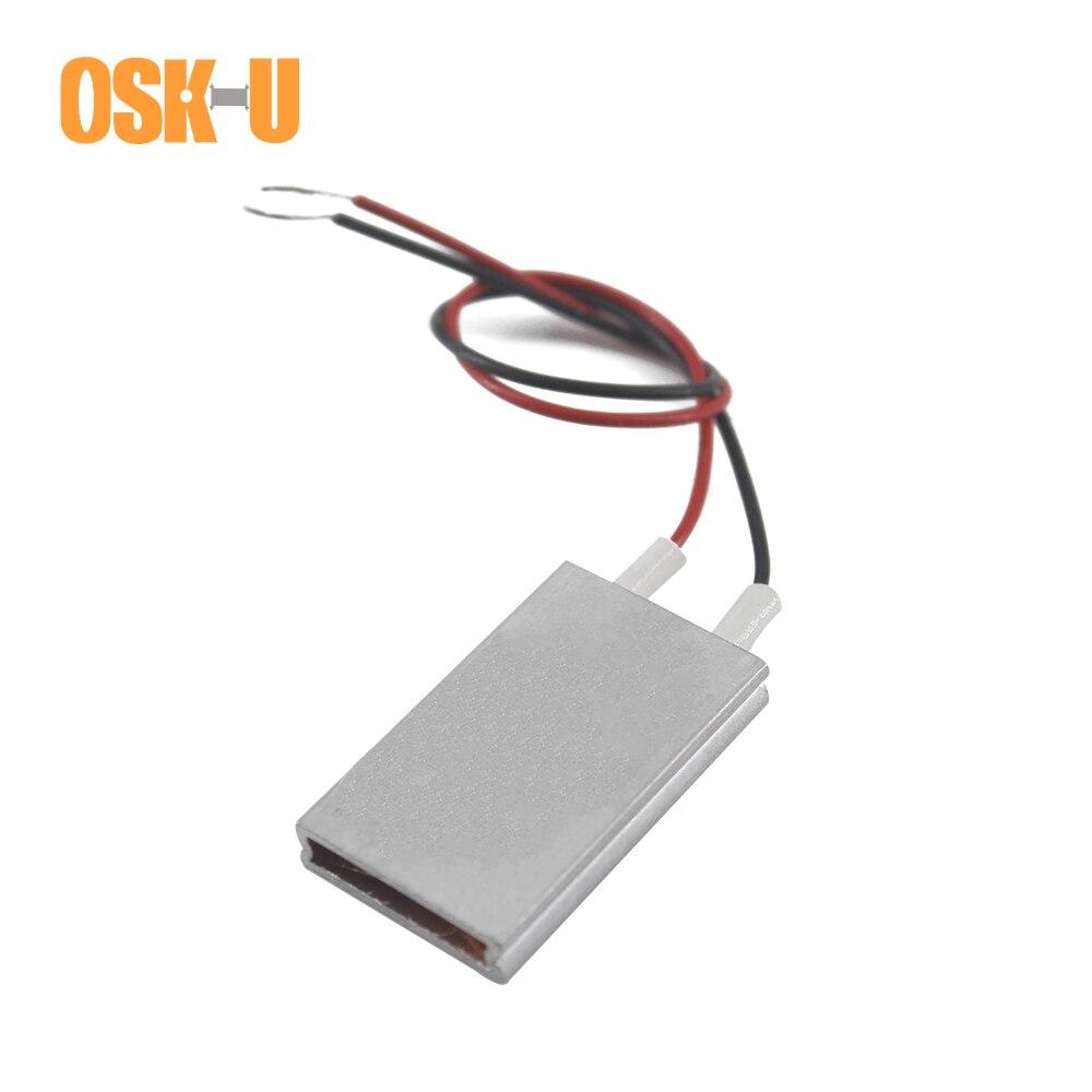 Calentador PTC OSKIU 35x20x5mm 220V elemento de temperatura constante 140/160/180/270 grados Celsius elemento de calentamiento eléctrico PTC