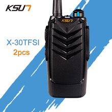 (2 pièces) KSUN X-30TFSI Radio bidirectionnelle Portable Radio UHF 400-470MHz jambon Radio BUXUN X30 talkie-walkie