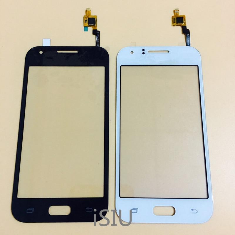 Pantalla táctil LCD para Samsung Galaxy J1 Duos J100F J100FN J100HD J1 Mini J105 Panel de pantalla táctil piezas de teléfono de cristal frontal