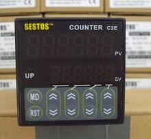 Sestos-commutateur Tact numérique   6 à échelle de préréglage numérique 100-240V CE C3E